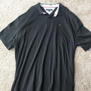 Tommy Hilfiger Black MENS Polo Size XXL